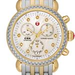 Signature CSX-36 Two Tone Diamond, Diamond Dial