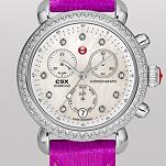 Signature CSX-36 Diamond, Diamond Dial Bright Purple Lizard