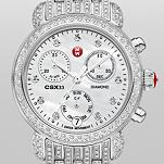CSX-33 Pav� Diamond, Diamond Dial on Diamond Bracelet