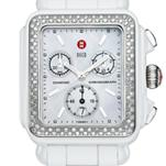 Deco White Ceramic Diamond