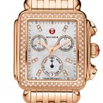 Signature Deco Rose Gold Diamond, Diamond Dial