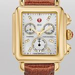 Signature Deco Gold, Diamond Dial Safari Patent
