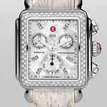 Signature Deco Diamond, Diamond Dial Cream Leather