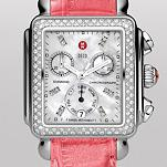 Signature Deco Diamond, Diamond Dial Primrose Pink Alligator