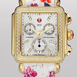 Signature Deco Gold Diamond, Diamond Dial Flower Patent