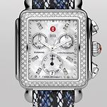 Signature Deco Diamond, Diamond Dial Snake Fashion Leather