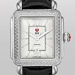 Signature Deco Diamond Guilloch� Dial, Black Alligator