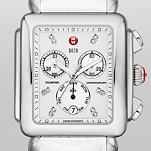 Deco XL Day Non-Diamond, Diamond Dial White Patent