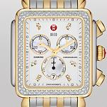 Deco XL Day Diamond Two-Tone, Diamond Dial
