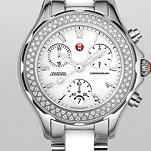 Tahitian White Ceramic and Stainless Steel Diamond