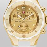 Tahitain Jelly Bean Large White Gold Tone Dial