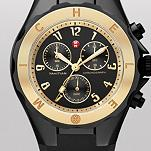 Tahitian Jelly Bean Black Gold Tone, Black Dial