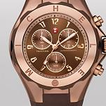 Tahitian Jelly Bean Brown Rose Gold Tone, Brown Dial