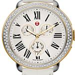 Serein Diamond Two Tone Gold, White Alligator