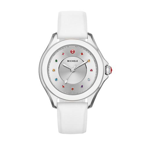 Michele Cape Topaz White Watch Mww27a000007 Silver