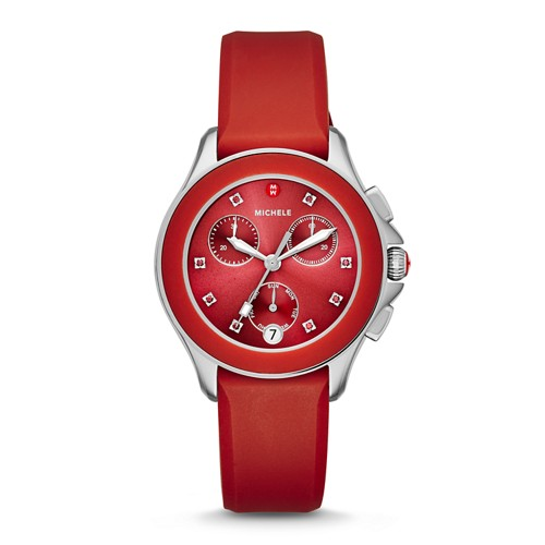 Michele Cape Chrono Red Watch Mww27c000004 Red