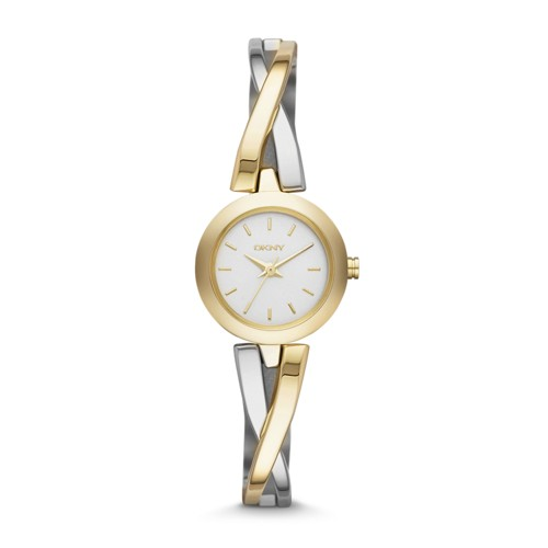 Dkny Dkny Women&Apos;S Crosswalk Gold-Tone And Silver-Tone Ny2171 Watches - ..