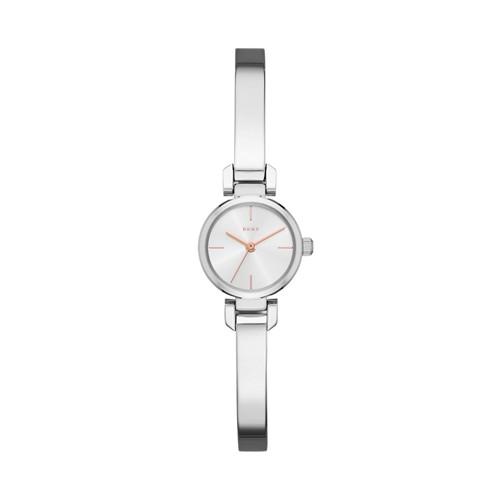 Dkny Ellington Stainless-Steel Three-Hand Watch Ny2627 Jewelry - NY2627-WSI