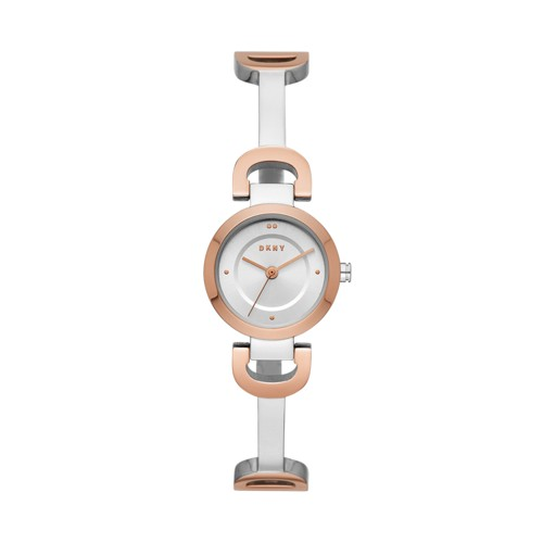 Dkny Dkny Women&Apos;S City Link Three-Hand Two-Tone Stainless Steel Watch N..