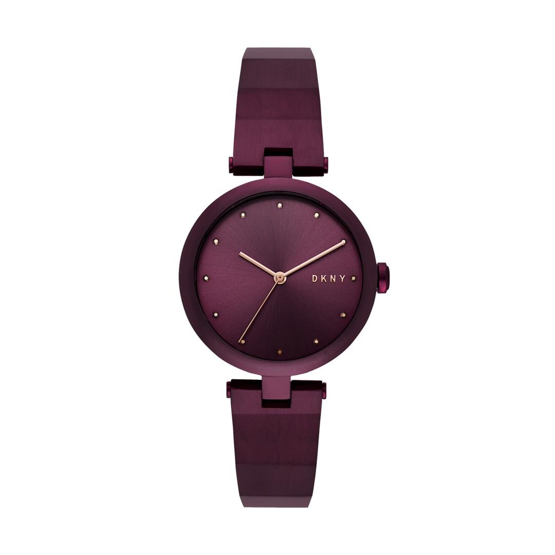 Dkny Dkny Women&Apos;S Eastside Three-Hand Purple Stainless Steel Watch Ny2754 Jewelry - NY2754-WSI