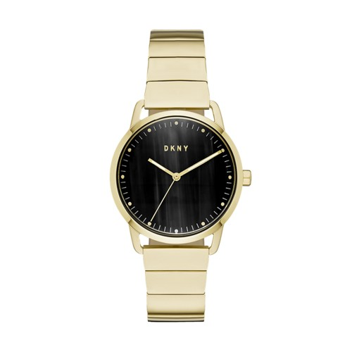 Dkny Dkny Women&Apos;S Greenpoint Three-Hand Gold-Tone Stainless Steel Watch..