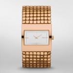 Rose Gold Tone Bracelet Watch