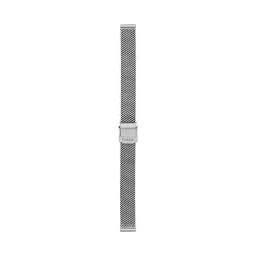 Fossil 12Mm Stainless Steel Mesh Bracelet