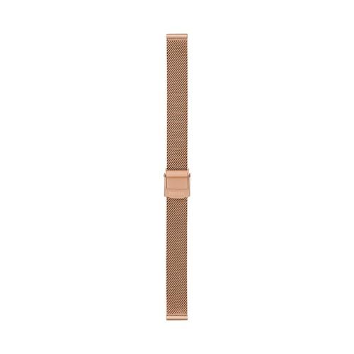 12mm Rose Gold-Tone Stainless Steel Mesh Bracelet S121026