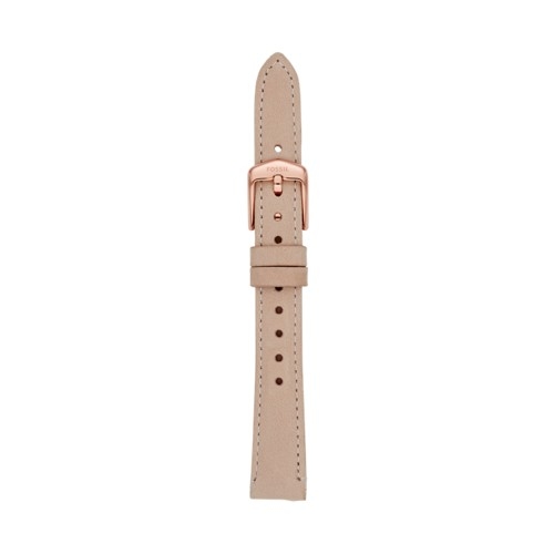 14mm Blush Leather Strap S141179