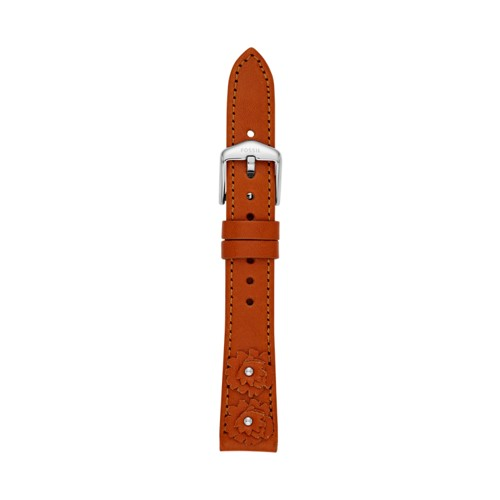 Fossil 16mm Tan Leather Strap S161051