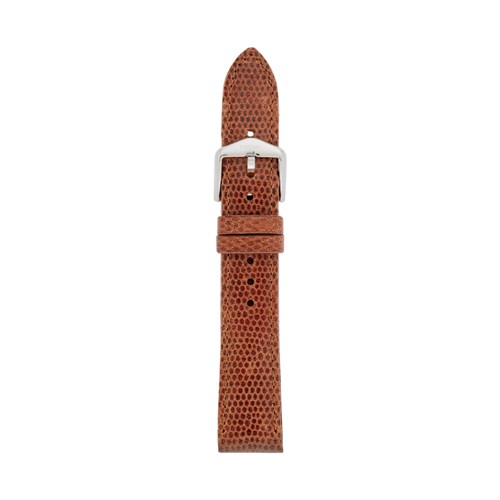 Fossil 18mm Cognac Leather Watch Strap S181350