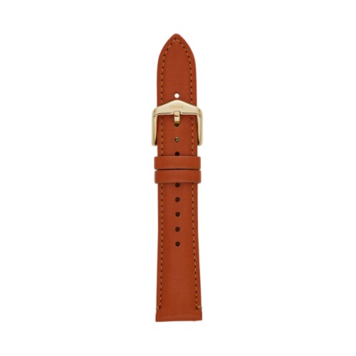 Fossil 18mm Brown Leather Strap S181364