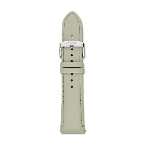 Fossil 22mm Green Leather Strap S221357