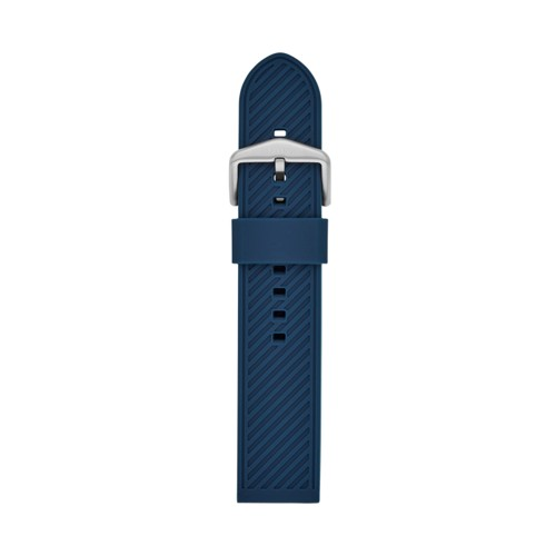 22mm Blue Silicone Strap S221429