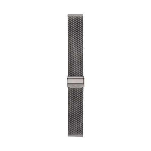Fossil 22mm Smoke Steel Mesh Bracelet S221441