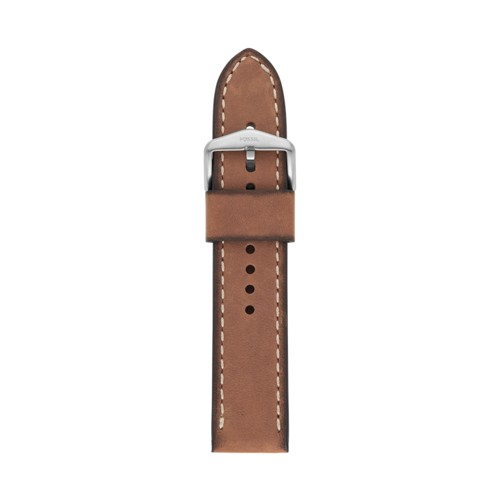 22mm Light Brown Leather Strap S221450