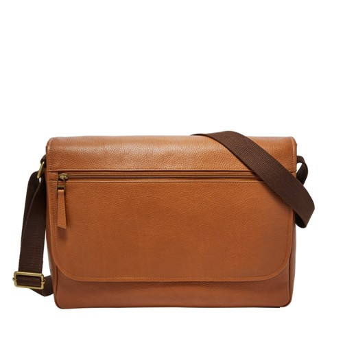 0787f15c86 Leather Messenger Bags for Him. Fossil Trey Messenger SBG1244216