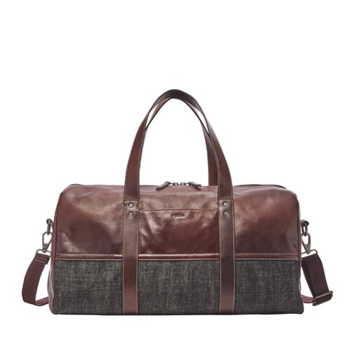 Leather Duffle Fossil