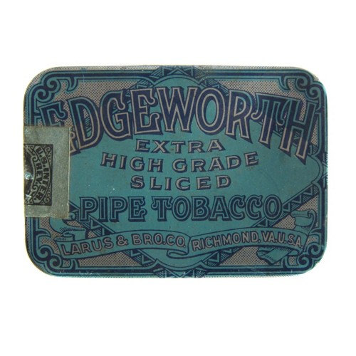 Fossil Edgeworth Pipe Tobacco Tin - Small Sdi6119