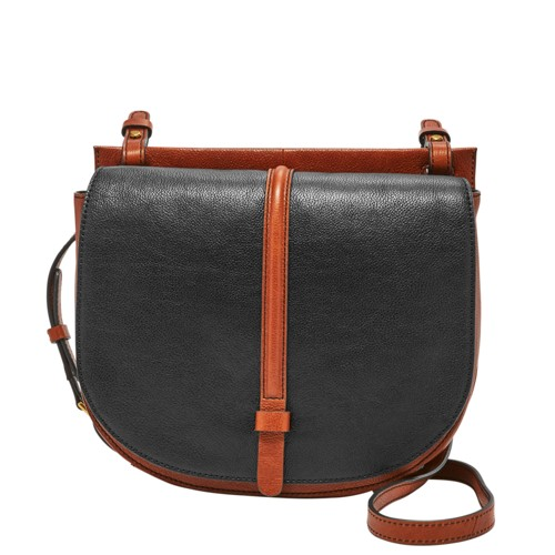 Fossil Collette Large Crossbody Shb1619016 Color: Black Multi