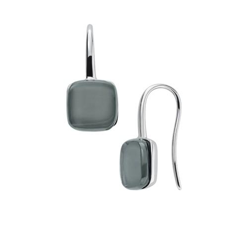 Skagen Sea Glass Silver-Tone Drop Earrings Skj0872040 Jewelry - SKJ0872040-WSI