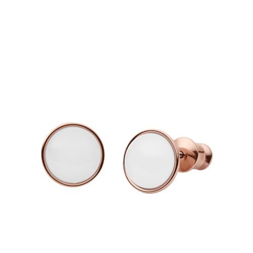 Skagen Sea Glass Rose-Gold-Tone Stud Earrings Skj0950791 Jewelry - SKJ095079..