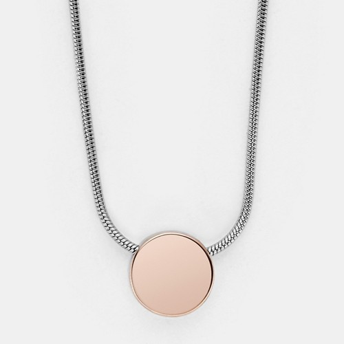 Skagen Elin Two-Tone Pendant Necklace Skj0954998 Jewelry - SKJ0954998-WSI