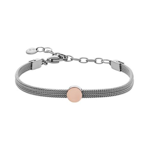 Skagen Elin Two-Tone Steel-Mesh Bracelet Skj0956998