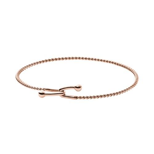 Skagen Anette Rose-Gold-Tone Hook Bracelet Skj1021791