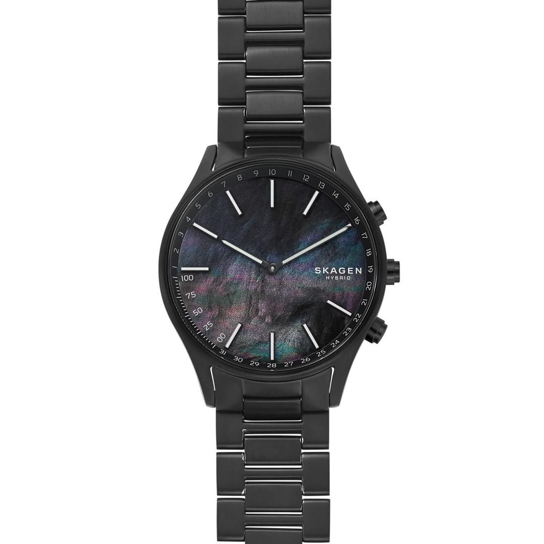 Skagen Holst Black Titanium-Link Hybrid Smartwatch Skt1312 Jewelry - SKT1312..
