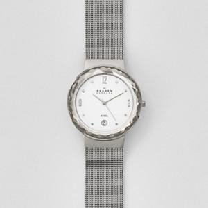 Leonora Steel Mesh Watch