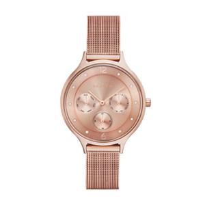 Anita Steel Mesh Multifunction Watch