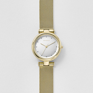 tanja steel mesh watch - Chambre Rose Gold