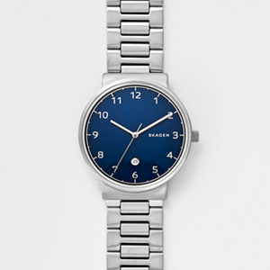 mens watch watches for men on skagen watch ancher steel link watch